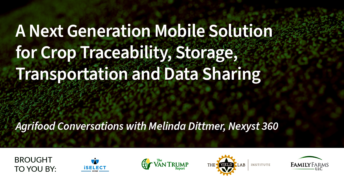 Agrifood Conversations: A Next Generation Mobile Solution for Crop Traceability, Storage, Transportation and Data Sharing
