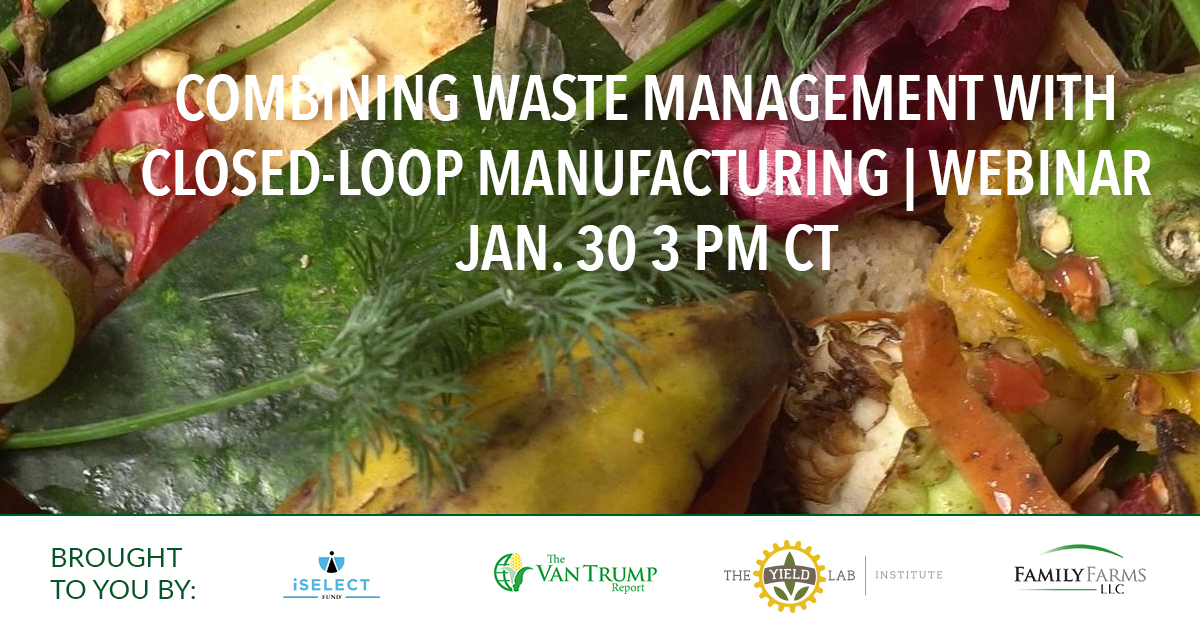 AgriFood Conversations: Combining Waste Management with Closed-Loop Manufacturing