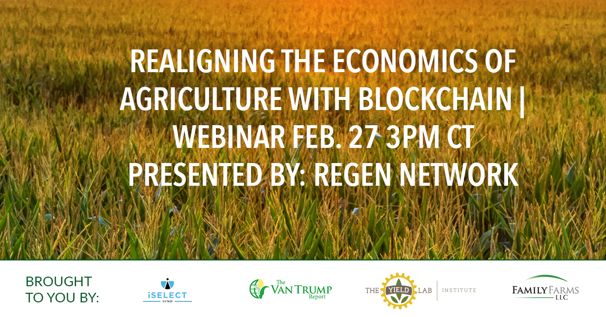 AgriFood Conversations: Realigning the Economics of Agriculture with Blockchain