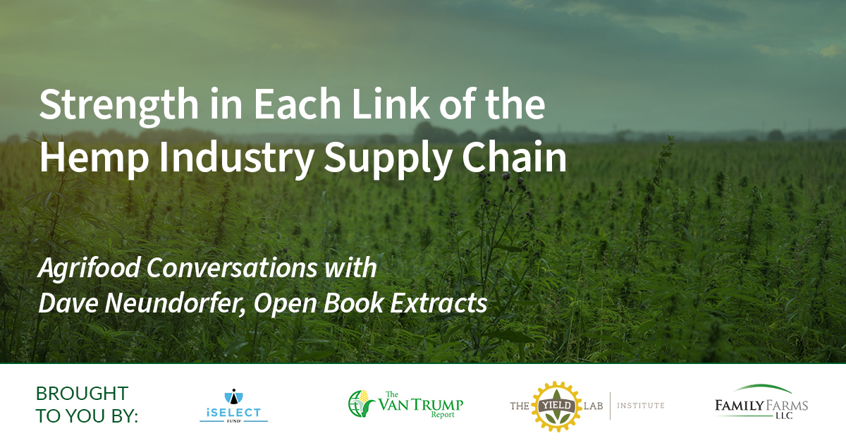 Agrifood Conversations: Strengthening the Links of the Hemp Industry Supply Chain