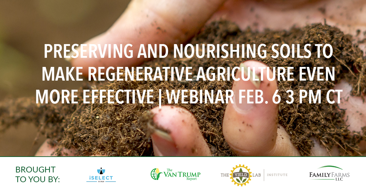 Agrifood Conversations: Preserving and Nourishing Soils to Make Regenerative Agriculture Even More Effective