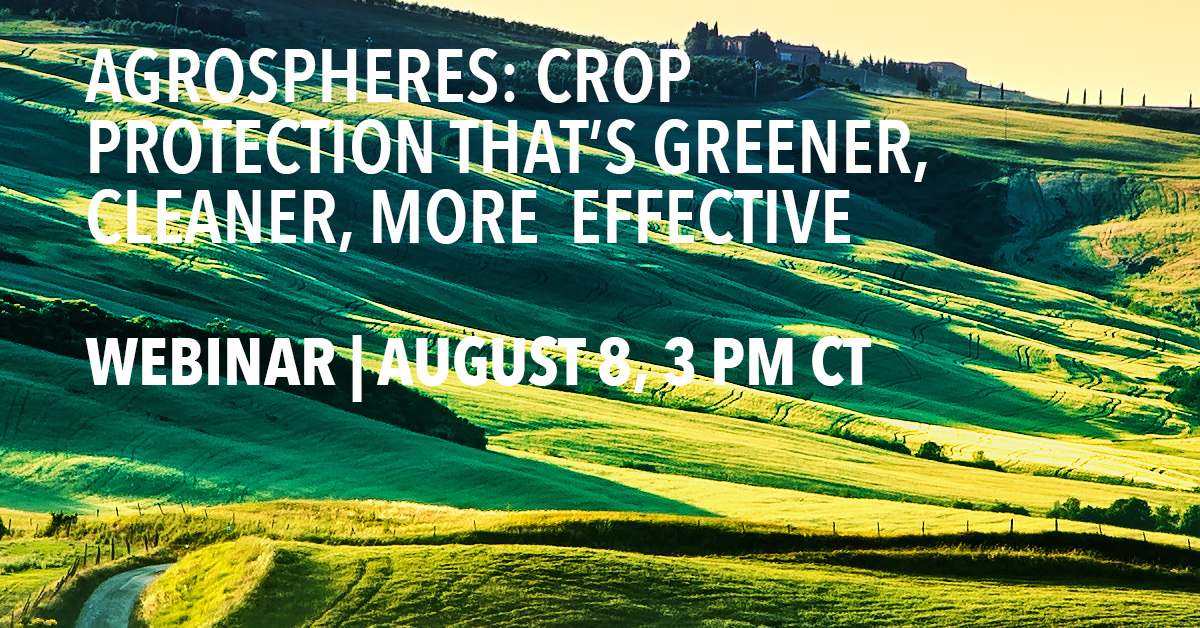 AgroSpheres: Crop Protection That