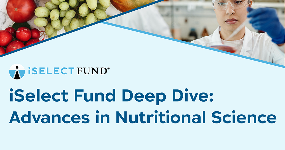 Deep Dive on Advances in Nutritional Science