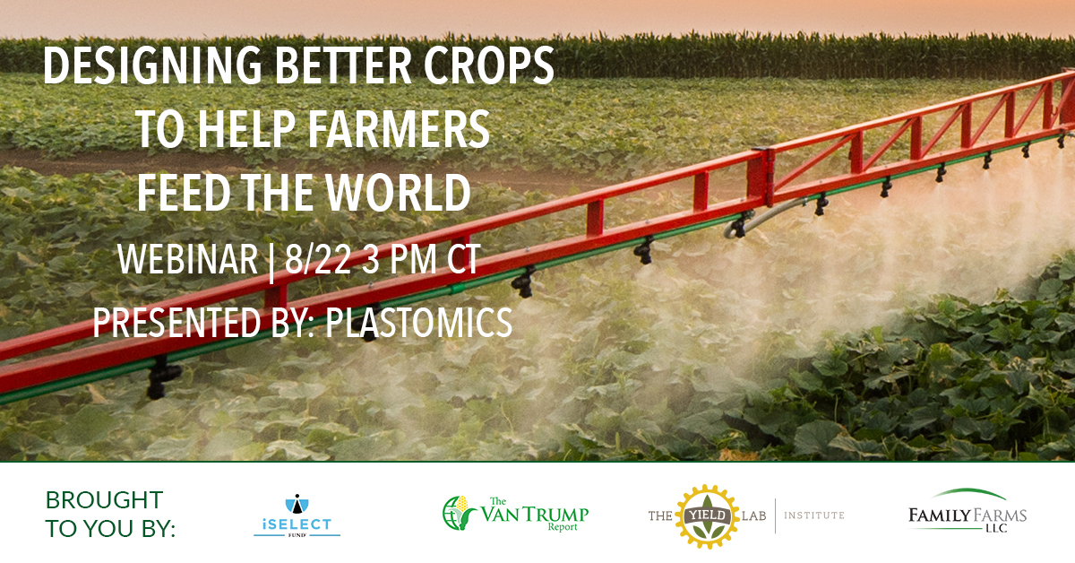 Plastomics: Designing Better Crops to Help Farmers Feed the World