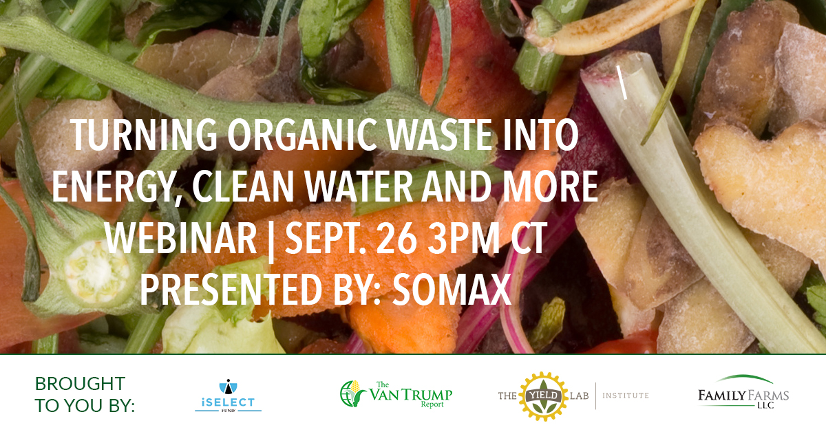 Turning Organic Waste into Energy, Clean Water and More